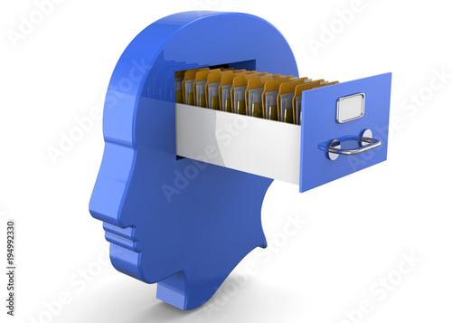 Foto Memories in the Brain -3D