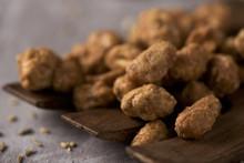 Cacahuetes Garrapinados, Spanish Candied Peanuts