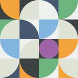 Abstrakcyjny wzór geometryczny geometrii 03 - 195008350