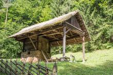 Bauernhaus In Den Alpen