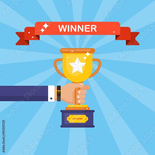 Fotomural Award winner trophy cup