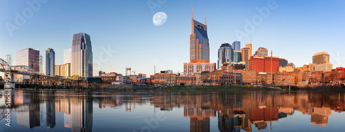 Nashville skyline in the morning - 195031964
