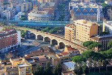 View Of The Rome And The Papal Railway