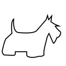 Scottish Terrier Silhouette Ou...