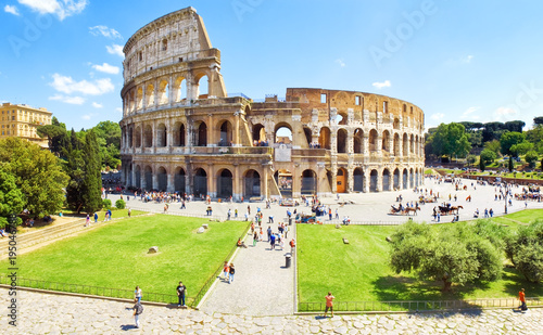Colosseum Rome Wallpaper Mural
