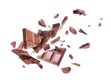 Сhocolate Broken Into Pieces ...