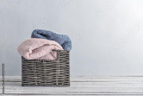 Fotografía Bath towels of different colors