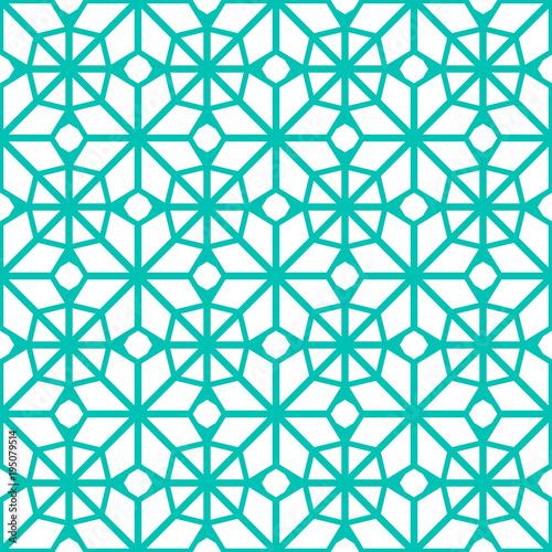 aec7df5cbbf5 Islamic geometric background. Arabic seamless pattern. Vector eastern  texture. Asian decor. Endless template ornamental design. Traditional blue .