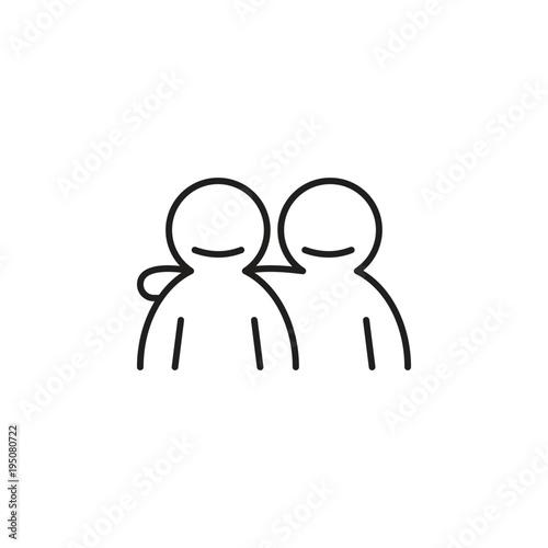 Fotografía  friendship icon