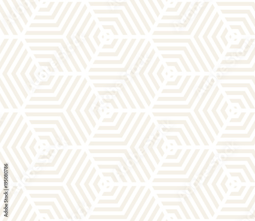 Foto auf AluDibond Boho-Stil Vector seamless pattern. Modern stylish texture. Repeating geometric tiles from striped elements