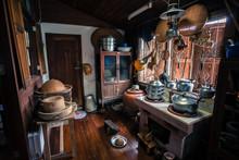 Retro Thai Style House And Kit...