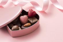 ハート型のチョコレートギフト