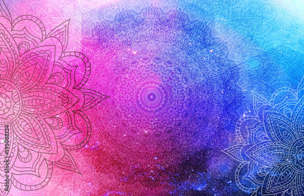 Photo  Mandala Background