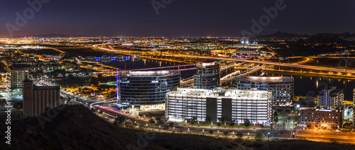 Spoed Foto op Canvas Arizona Phoenix Arizona City Overlook