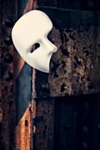Phantom Of The Opera Mask On A...