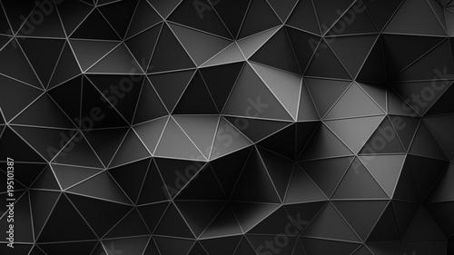 Fototapety czarne - bardzo ciemne mroczna-czern-blokow-betonu