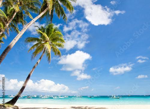 Deurstickers Strand Travel destinations
