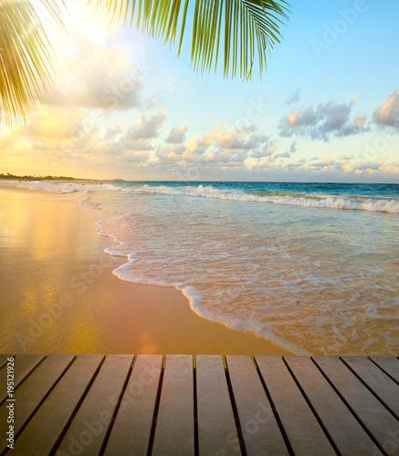 Foto op Plexiglas Caraïben art seaside view