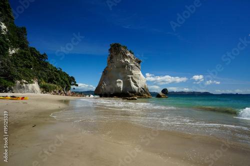 Foto op Aluminium Cathedral Cove Te Hoho Rock, Cathedral Cove, Hahei, Coromandel Peninsula, New Zealand