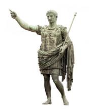 Statue Of Caesar In Rome Isola...