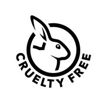 Cruelty Free Concept Logo Desi...