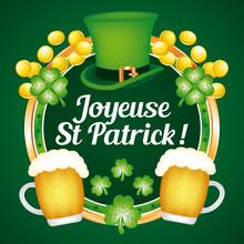 Joyeuse Saint Patrick ! Carte ...