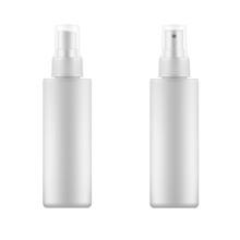 Set Of White Blank Spray Bottl...