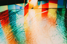 Abstract Glass Reflection