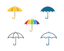 Umbrella Icon Vector Illustration