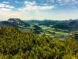 Blick vom Unterberghorn zum Walchsee