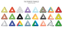 Penrose Impossible Triangle Co...
