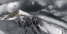 Dramatic Winter Storm Clouds O...