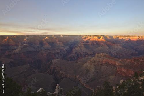Keuken foto achterwand Chocoladebruin Grand Canyon