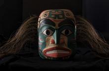 Dogfish Mother Mask, Haida Gwaii