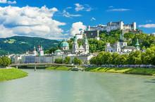 Beautiful View On Salzburg Sky...