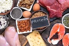 Selection Food Sources Of Prot...