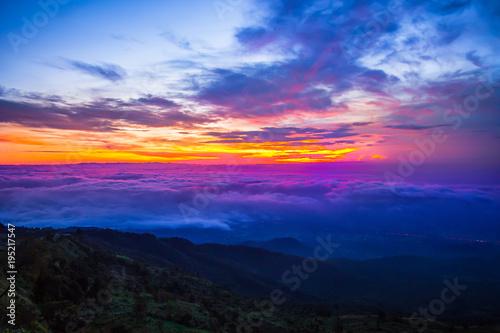 Fotobehang Noord Europa Sunrise - Dawn, Dawn, Sunset, Sun, Forest