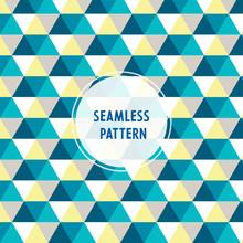 Seamless Colorful Hexagon Patt...