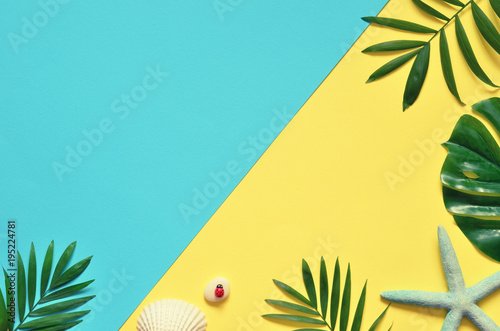 Fotomural Tropical Background