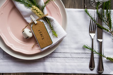 """Table Decor With Callistemon Flower And A Tag Reading Peaceable Dec""""able Decor With""""able Decor With Callistemon""""""""""""able Decor With Callistemon Flower And A Tag Reading """""""