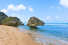 Scenic View Of Bathsheba Beach Barbados