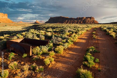 Fotografía  Valley of the Gods, Bears Ear National Monument, Utah