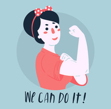 We Can Do It Poster. Strong Gi...