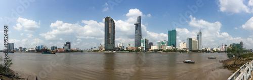 Foto  Cityscape of Saigon, Vietnam