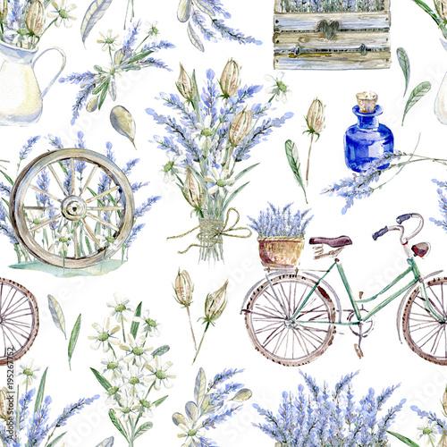 akwarela-realistyczna-ilustracja-kwiatowy-wzor-prov