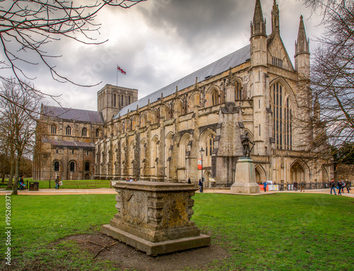 Winchester Cathedral Fototapeta