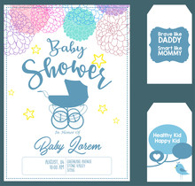 Baby Shower Invitation Card Te...