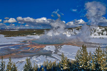 Wide View Of Grand Prismatic H...
