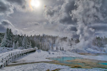 Norris Geyser Basin Walking Pl...