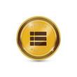 Options Circular Vector Gold Web Icon